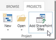 add sharepoint sites