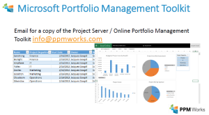 PPMWorks-Portfolio-Toolset