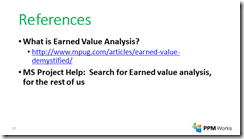 Earned Value and Baselines - Microsoft Project 2013 | PPM Works Blog