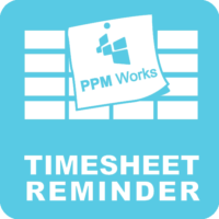 timesheet reminder app request ppm works inc
