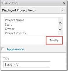 modify basic info