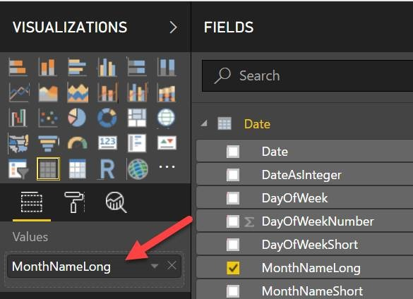 Sorting Month Names Chronologically in Microsoft Power BI Reports