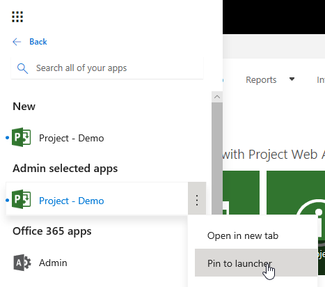 office 365 admin project