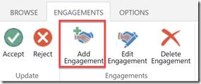 add engagement